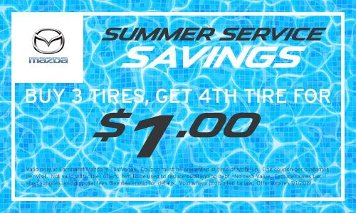 Buy 3 Tires, Get 4th Tire for $1 in Las Vegas
