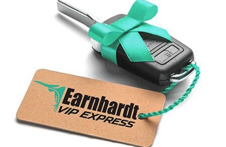 Close Up of Keys with Earnhardt VIP Express Keychain