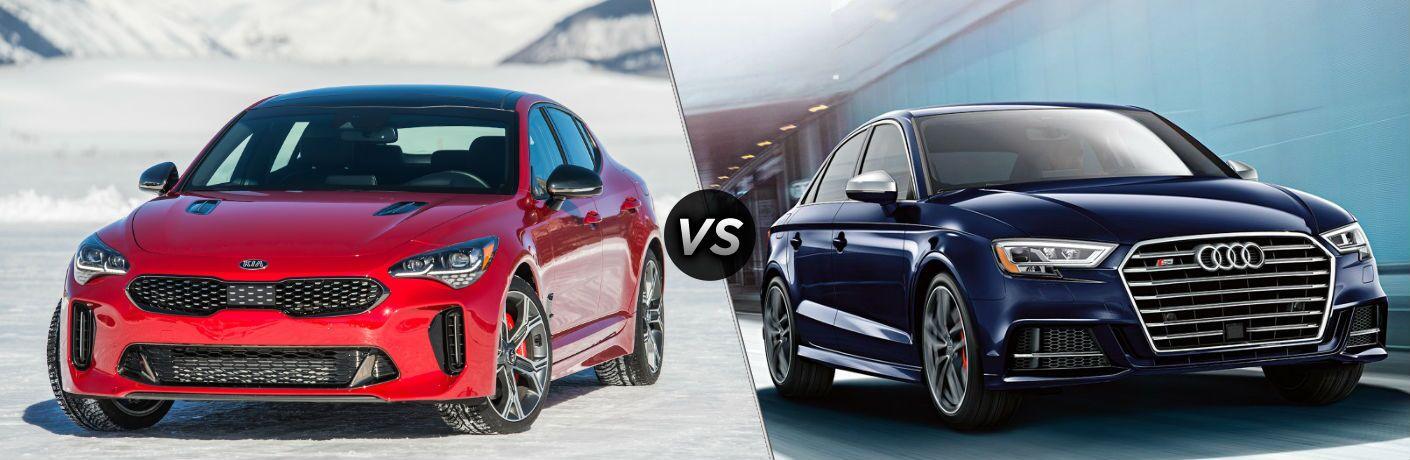 2018 Kia Stinger vs 2018 Audi S3