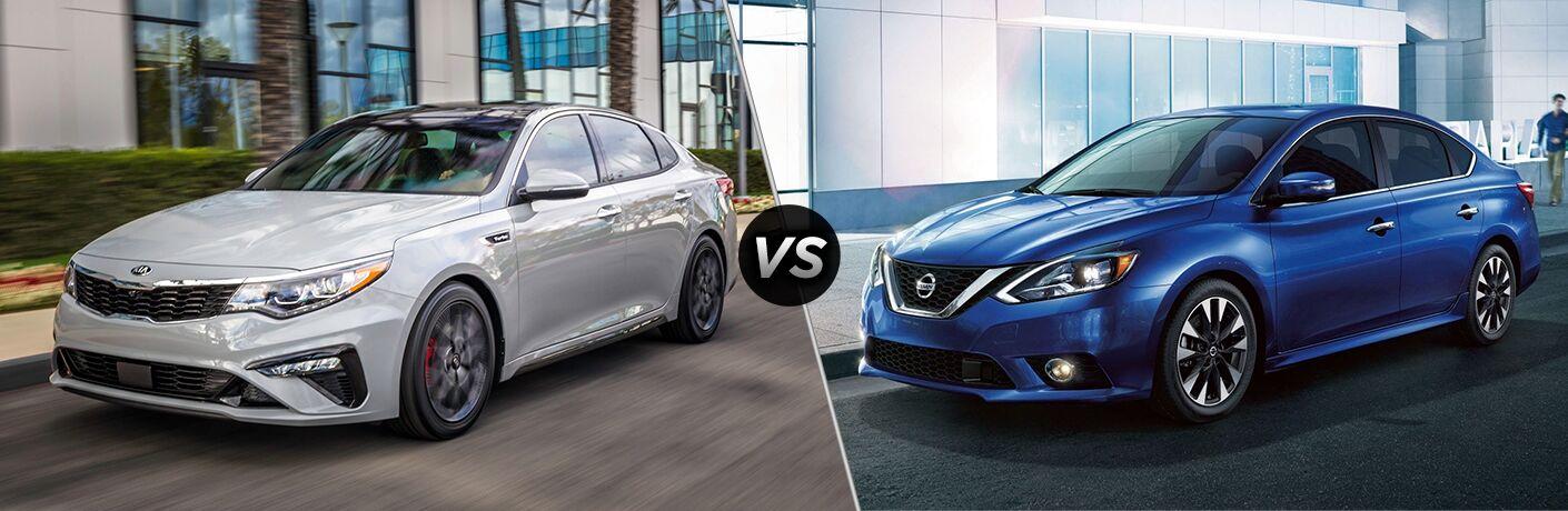 2019 Kia Forte vs 2019 Nissan Sentra