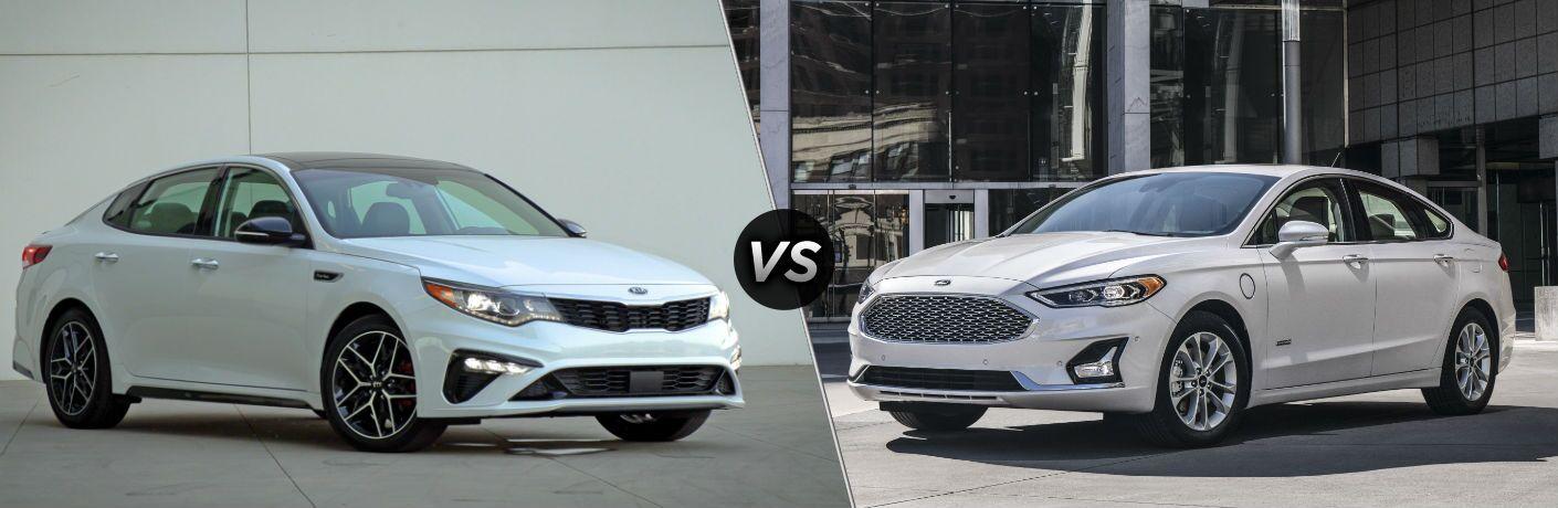 2019 Kia Optima vs 2019 Ford Fusion