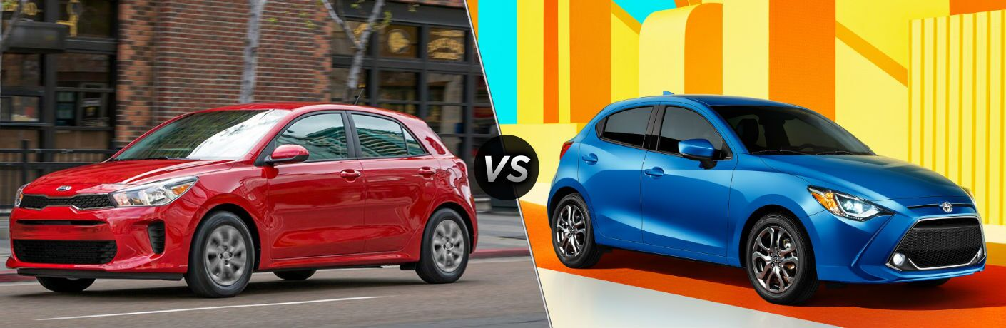 2019 Kia Rio 5-Door Hatchback vs 2020 Toyota Yaris Hatchback