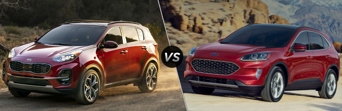 2020 Kia Sportage vs 2020 Ford Escape