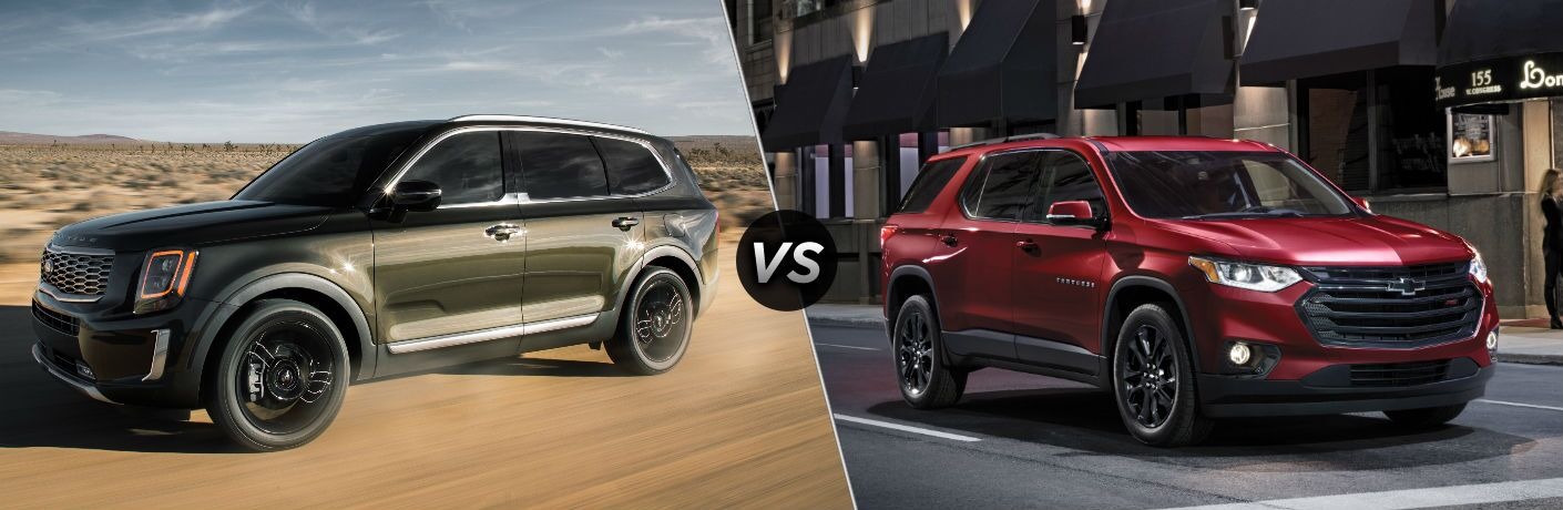 2020 Kia Telluride vs 2019 Chevy Traverse