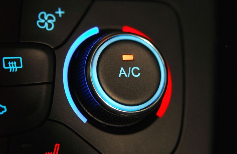 AC button and dial