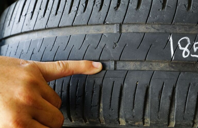 inspection of tire pressure