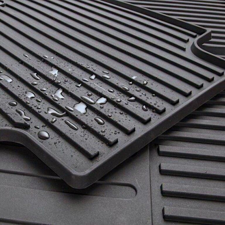 rubberized floor mats