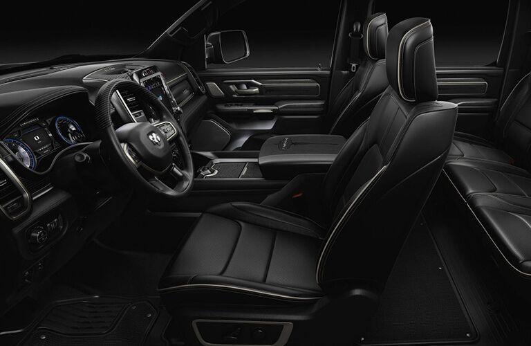 2019 RAM 1500 interior front seats