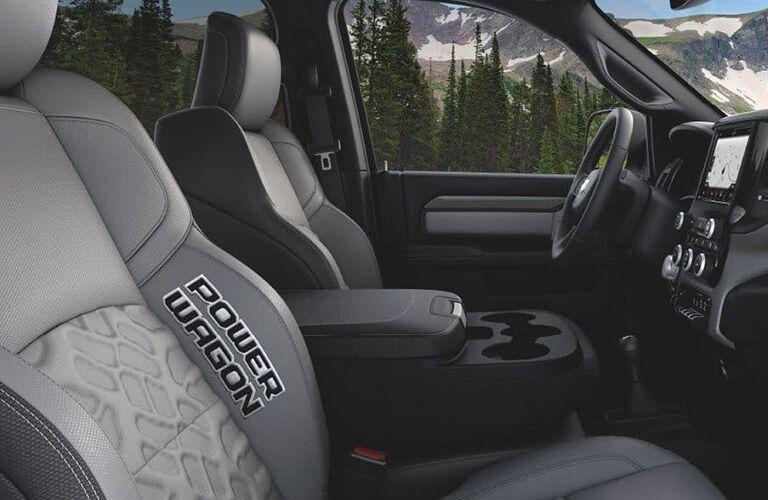 2019 RAM Heavy Duty Power Wagon front seat