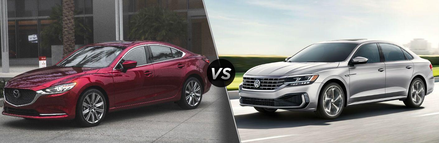 2018 Mazda6 vs 2020 Volkswagen Passat