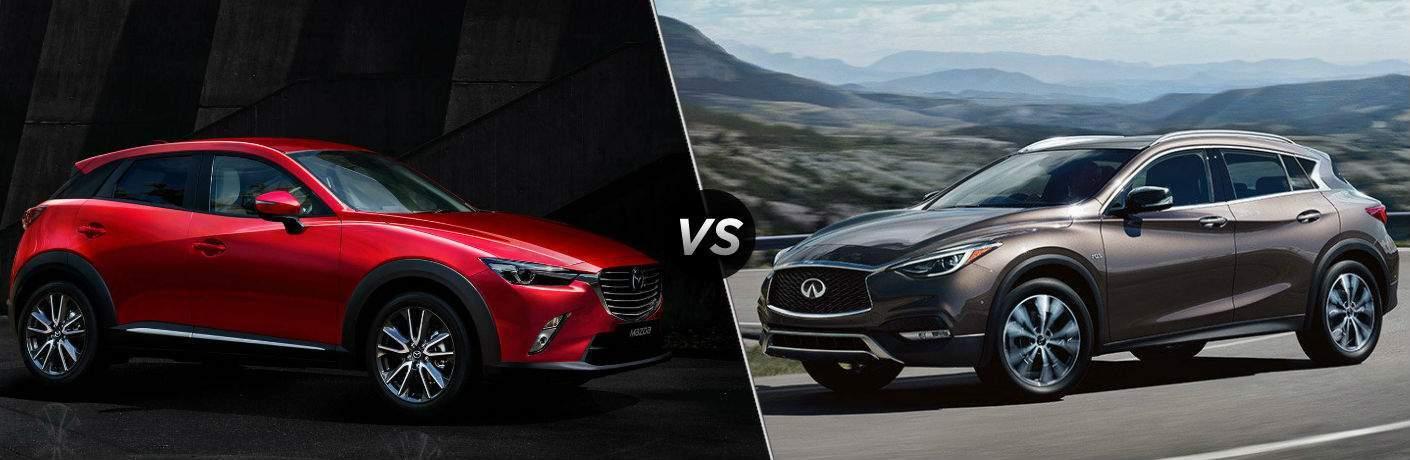 2018 Mazda CX-3 vs 2018 INFINITI QX30