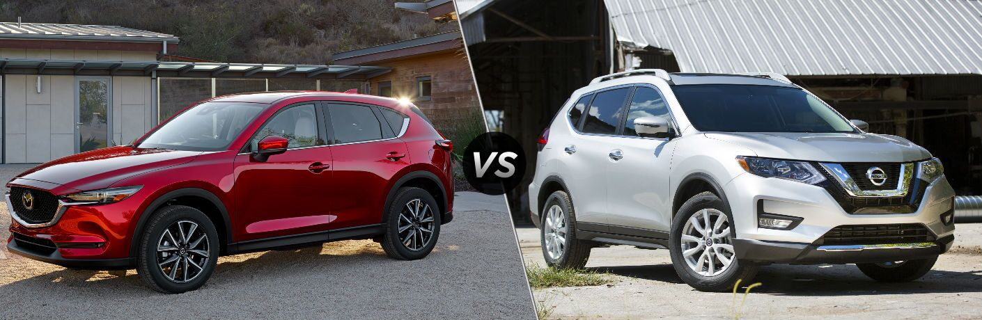 2018 Mazda CX-5 vs 2018 Nissan Rogue
