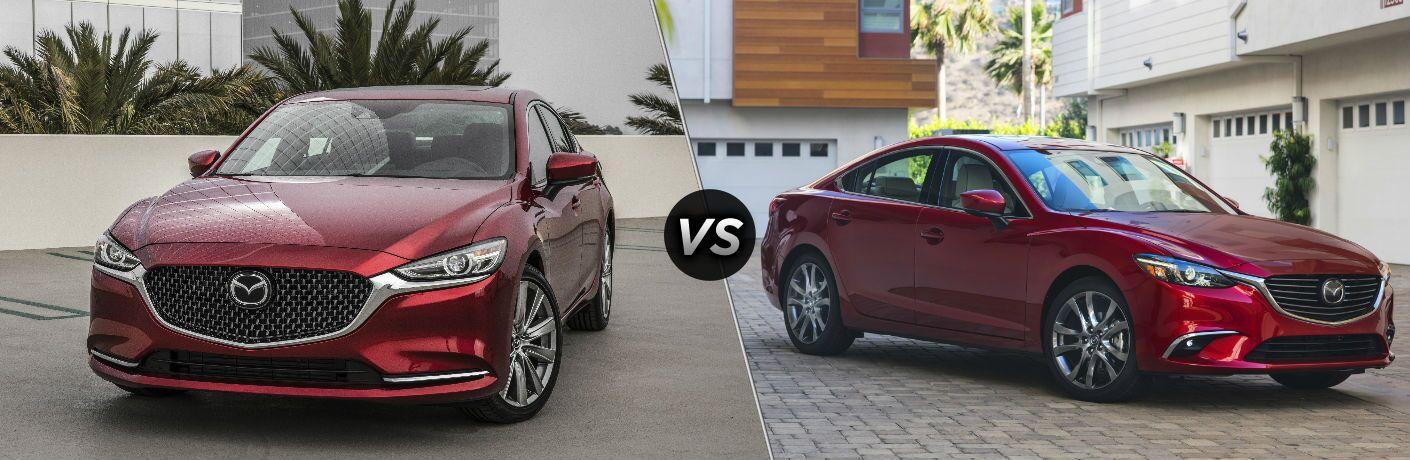 2018 Mazda6 vs 2017 Mazda6