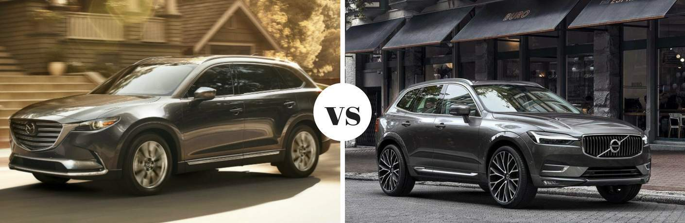 2018 Mazda CX-9 vs 2018 Volvo XC60