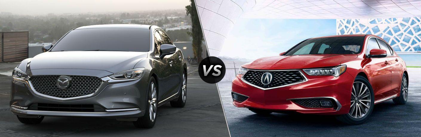 2019 Mazda6 vs 2020 Acura TLX