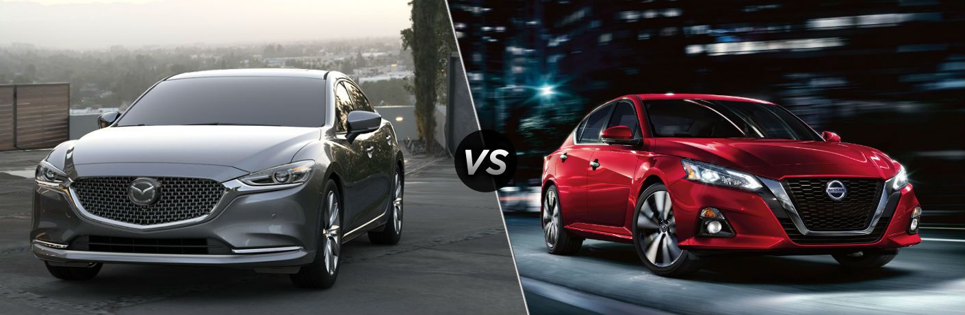 2019 Mazda6 vs 2020 Nissan Altima