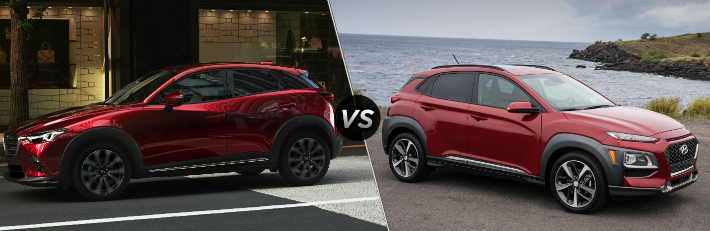 2019 Mazda Cx 3 Vs 2018 Hyundai Kona