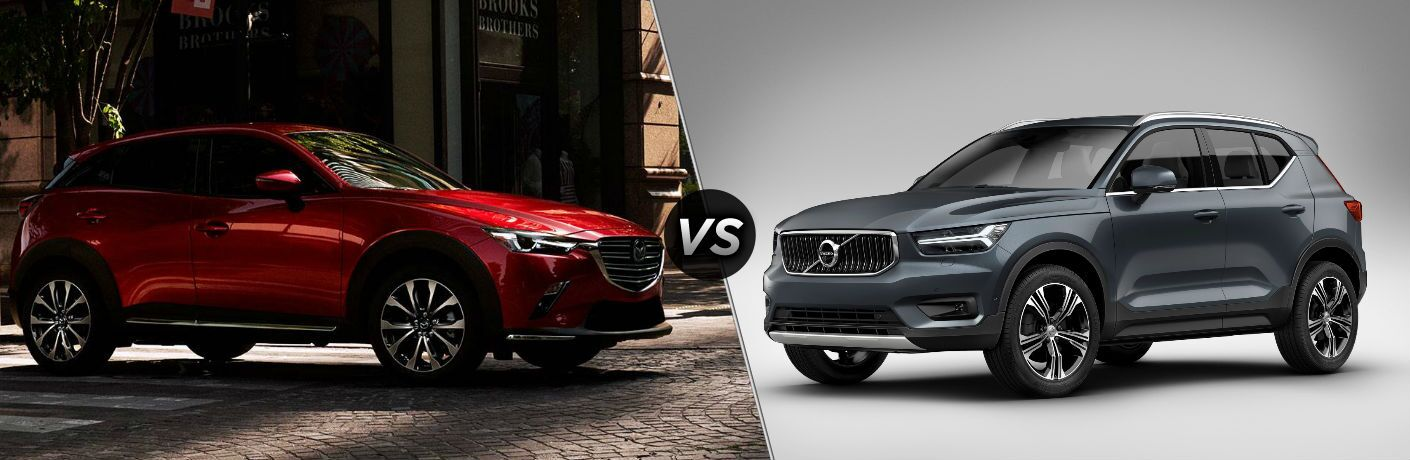 2019 Mazda CX-3 vs 2019 Volvo XC40