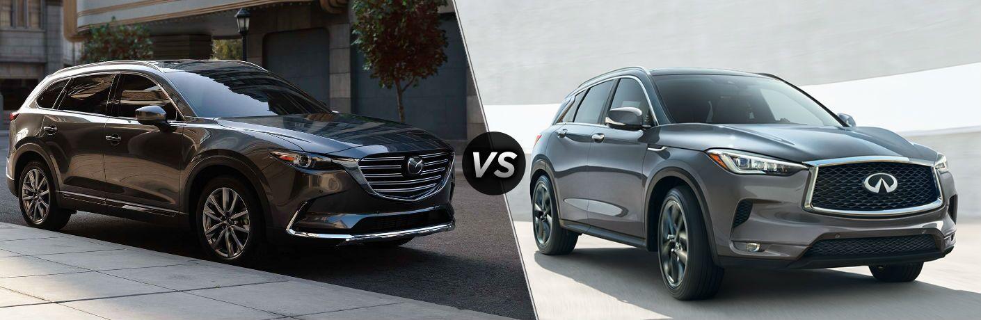 2019 Mazda CX-9 vs 2019 Infiniti QX50