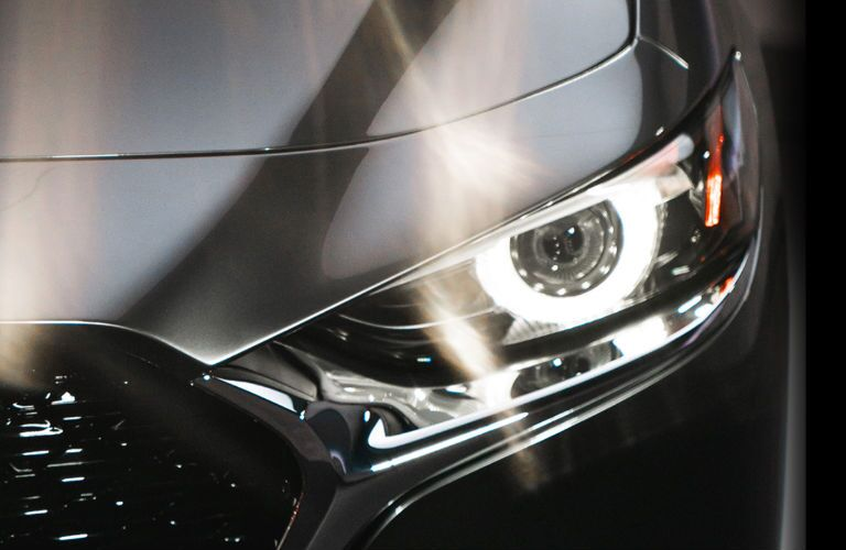 2020 Mazda3 headlight