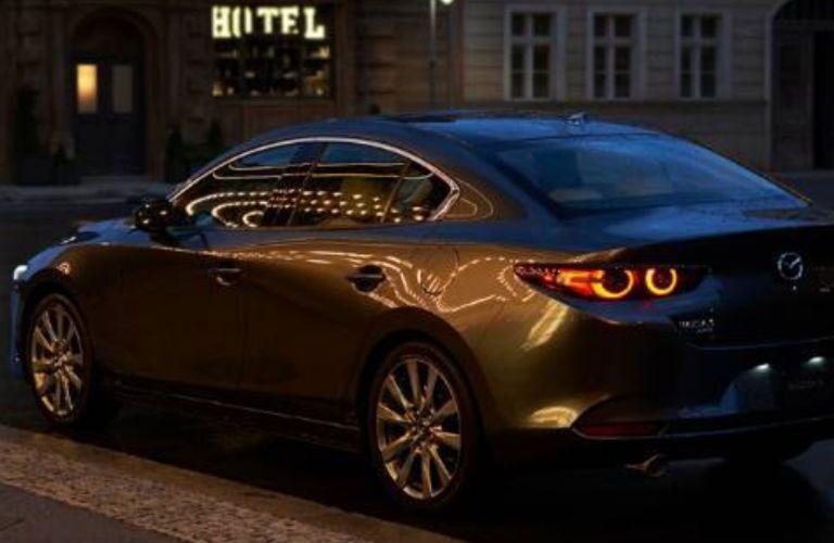 2020 Mazda3 in black