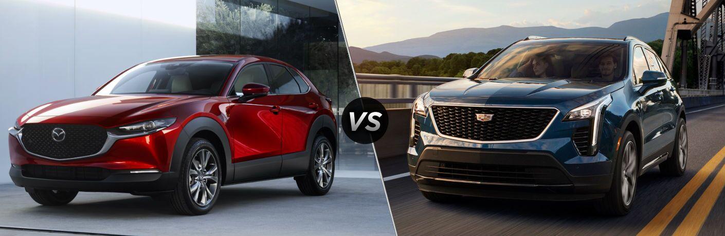 2020 Mazda CX-30 vs 2020 Cadillac XT4