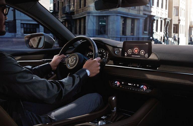 2021 Mazda 6 Sedan Luxury Signature Interior View