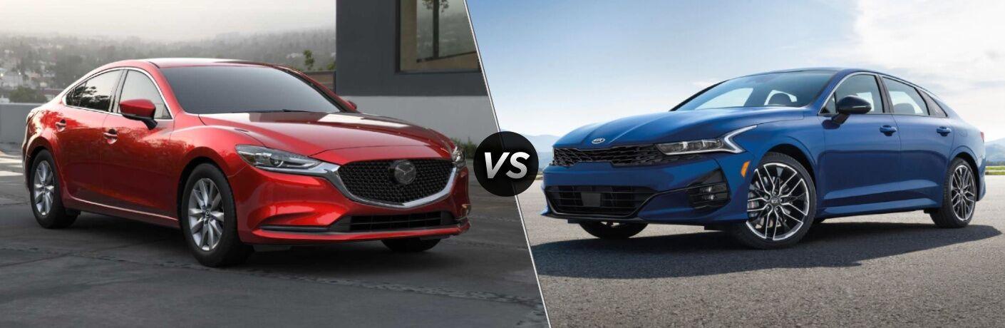 2021 Kia K5 vs 2021 Mazda6