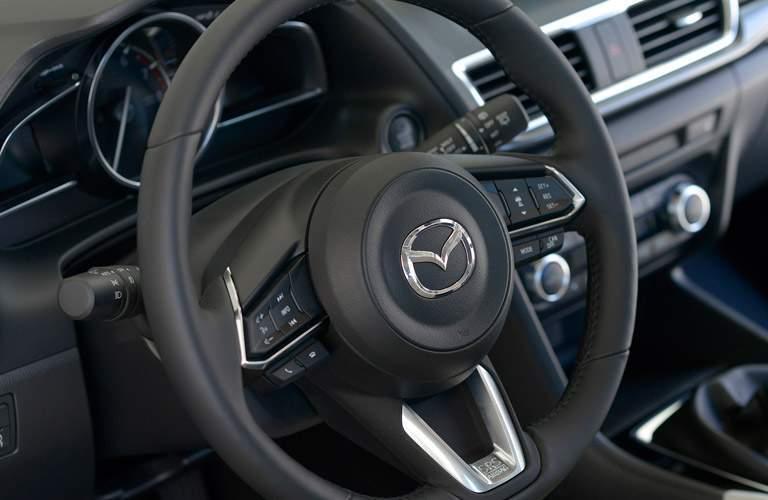 2017 Mazda Mazda3 steering wheel