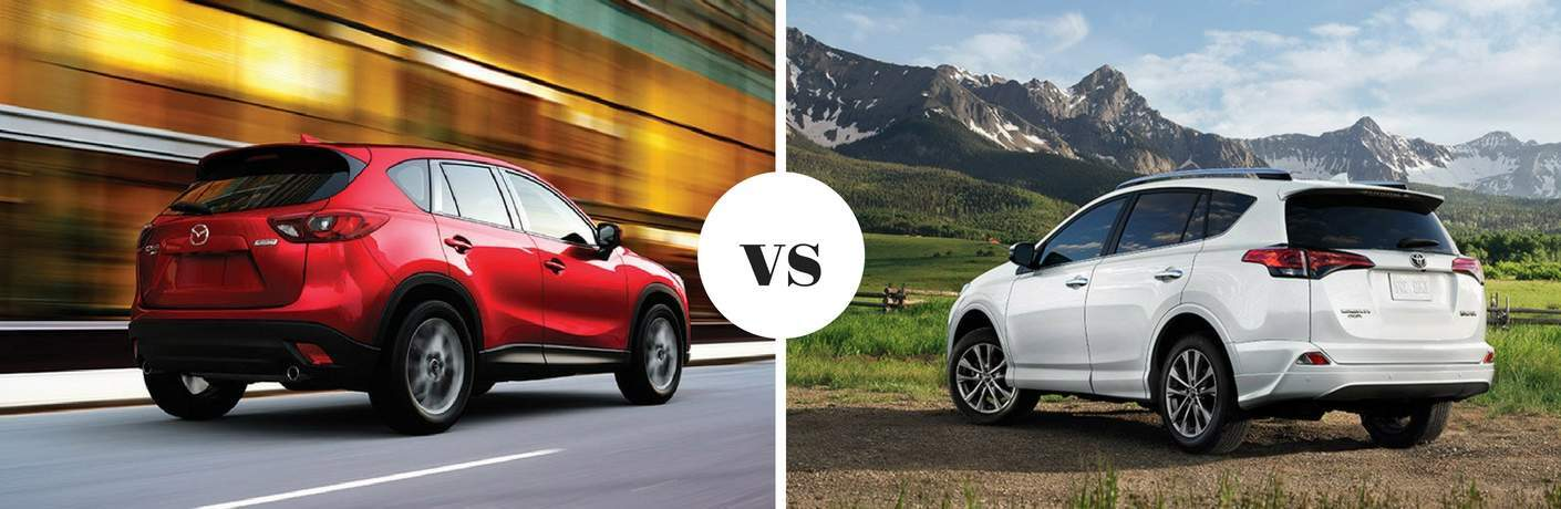 2017 Mazda CX-5 vs 2017 Toyota RAV4