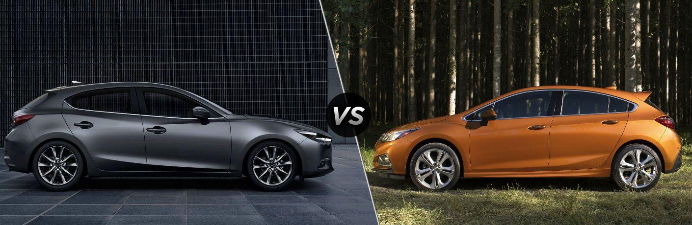 2018 Mazda3 Hatchback vs 2018 Chevy Cruze Hatchback