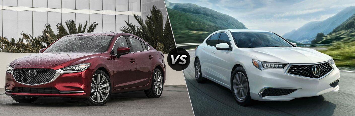 2018 Mazda6 vs 2019 Acura TLX