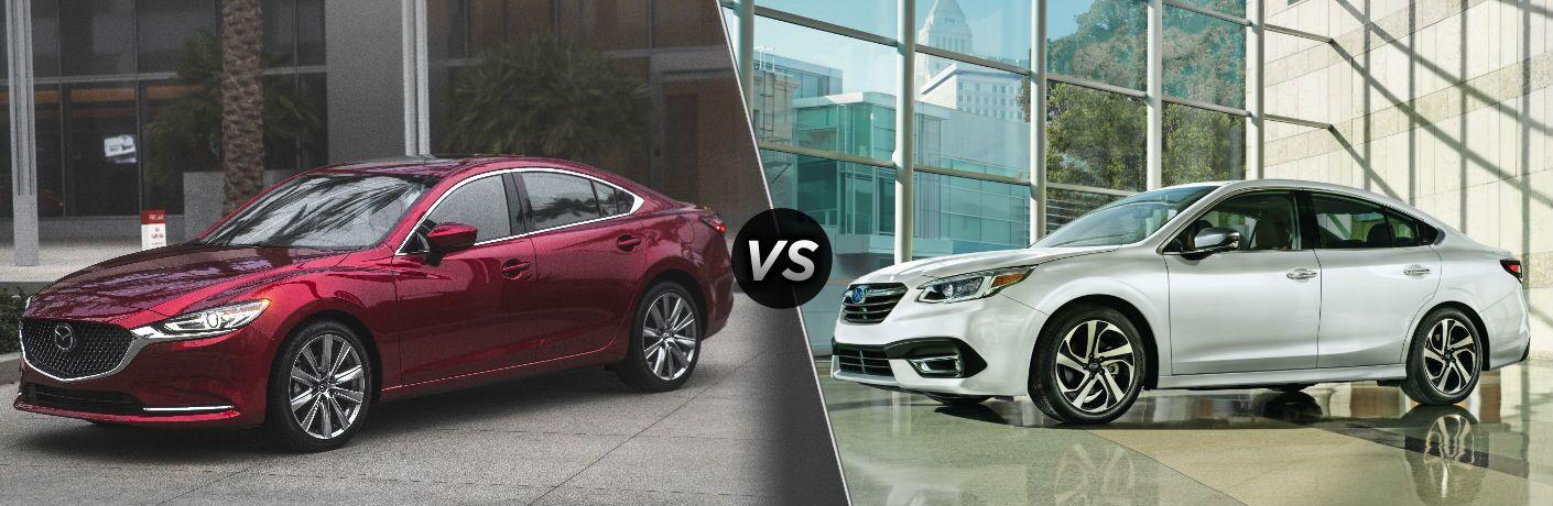 2018 Mazda6 vs 2020 Subaru Legacy