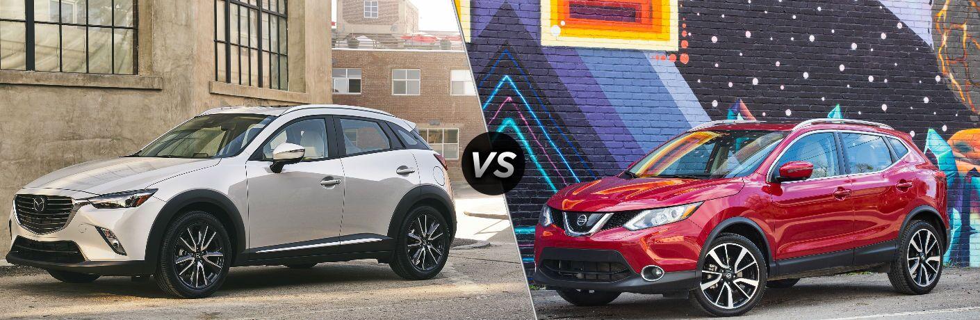 2018 Mazda CX-3 vs 2018.5 Nissan Rogue Sport