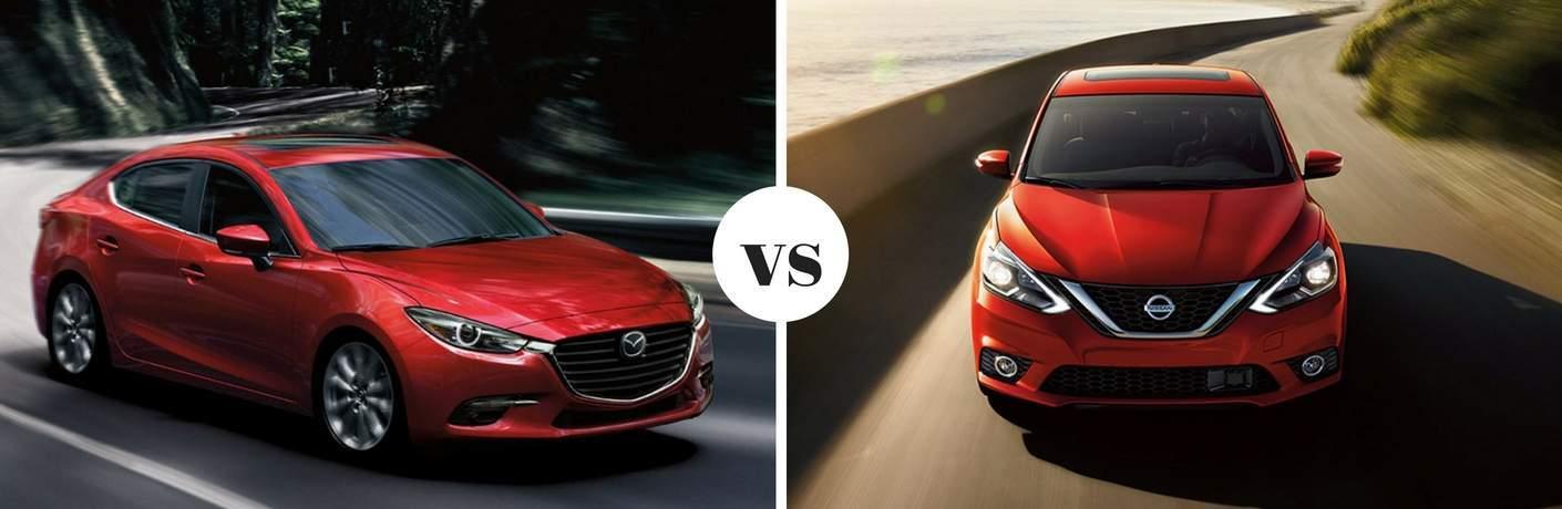 2018 Mazda3 vs 2018 Nissan Sentra