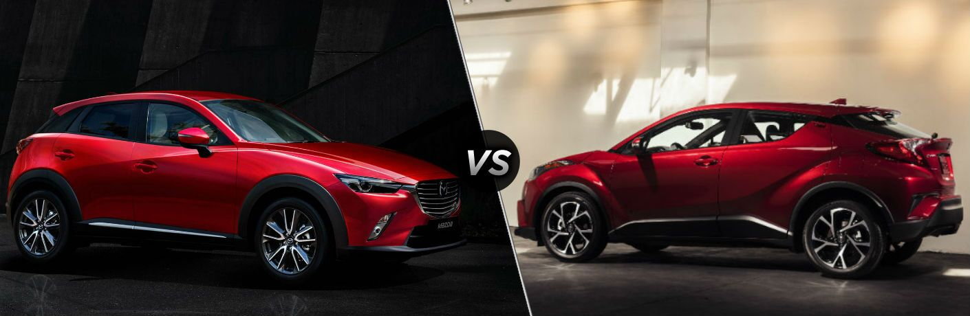 2018 Mazda CX-3 vs 2018 Toyota C-HR