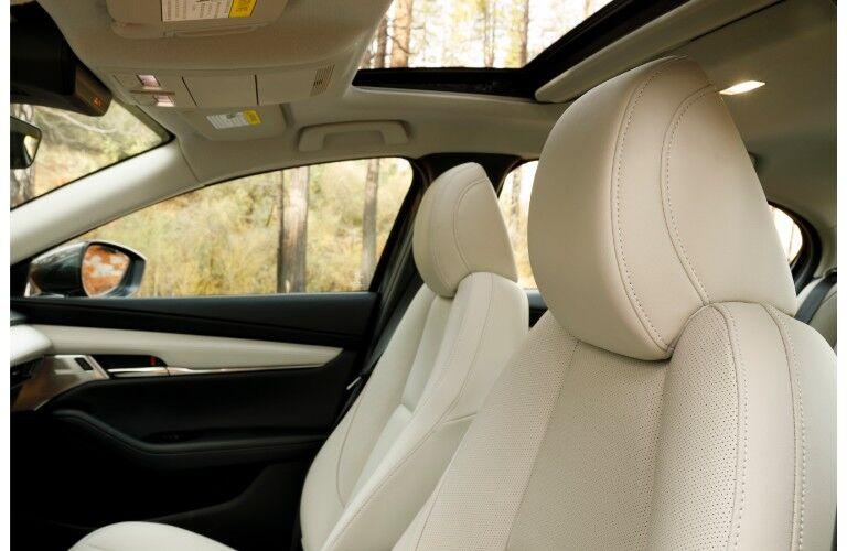 2019 Mazda3 front seats