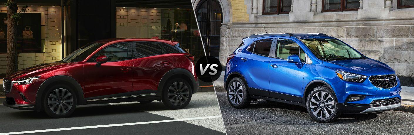 2019 Mazda CX-3 vs 2019 Buick Encore
