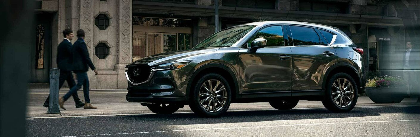 2020 Mazda CX-5 parked downtown