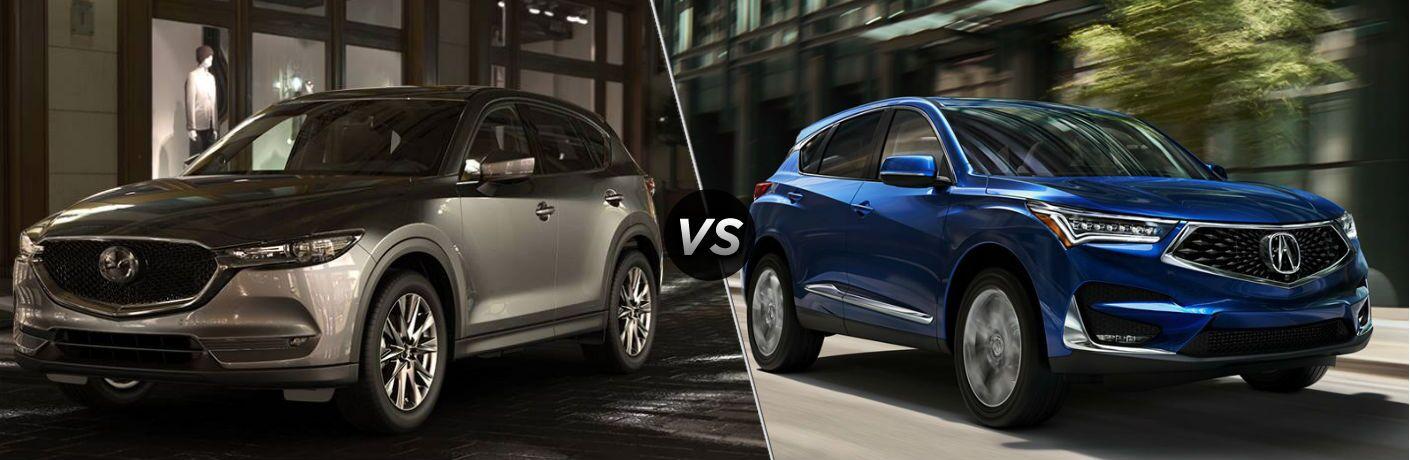 2019 Mazda CX-5 vs 2019 Acura RDX