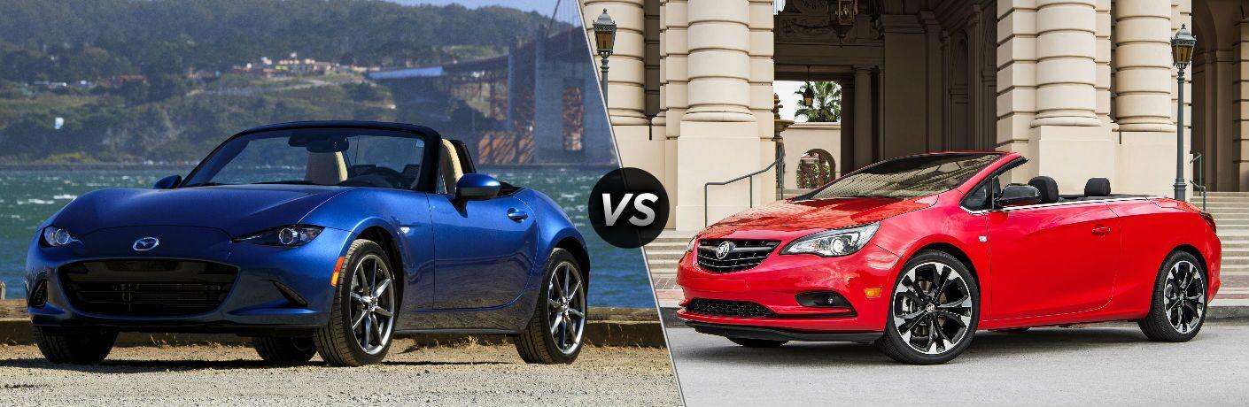 2019 Mazda MX-5 Miata vs 2019 Buick Cascada