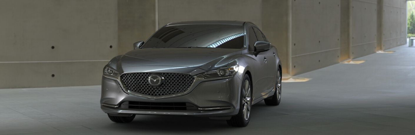 2020 Mazda6 from exterior front drivers side