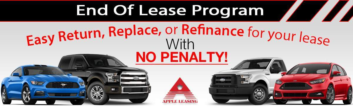 How To Get Out Of A Car Lease Without Penalty >> Early Car Lease Returns No Termination Fee Apple Leasing