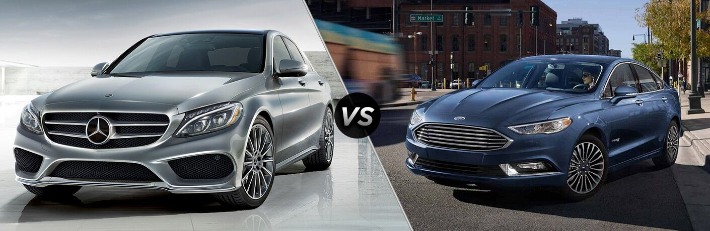 2018 Mercedes-Benz C-Class vs 2018 Ford Fusion