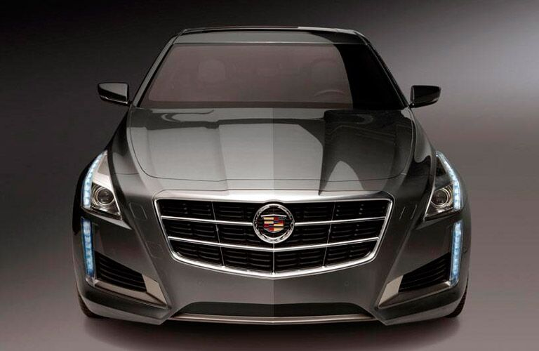 2014 Cadillac CTS Coupe front exterior profile
