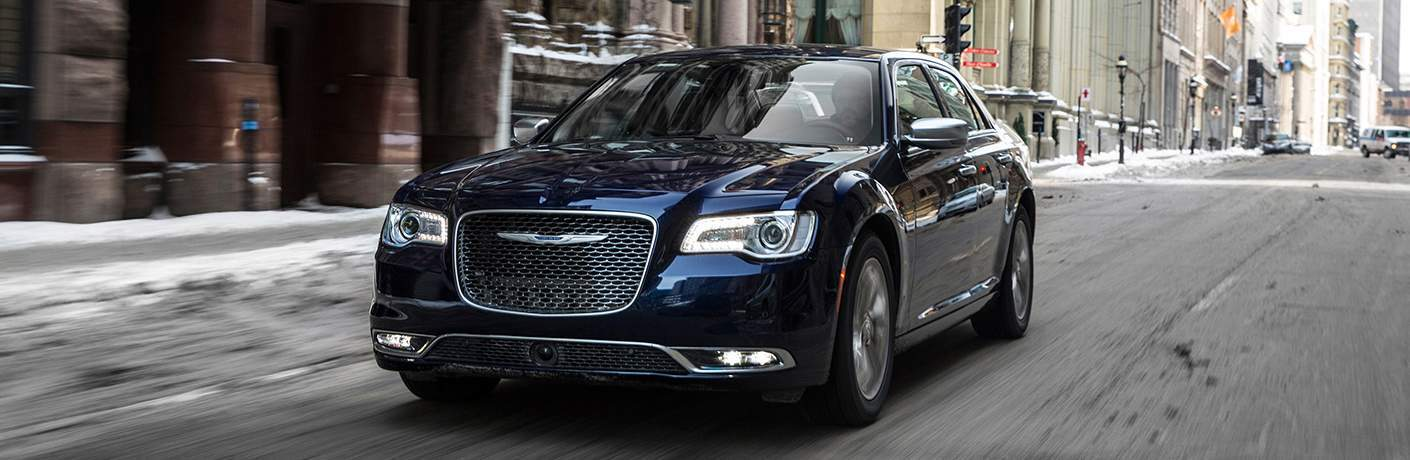 2017 Chrysler 300 on the road