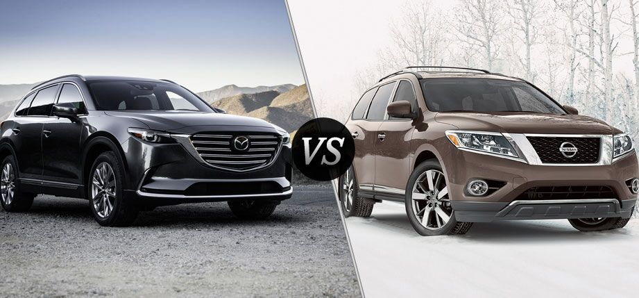 2016 Mazda CX-9 vs 2016 Nissan Pathfinder