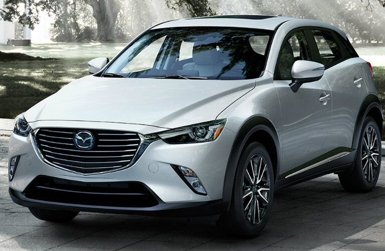 2016 mazda cx-3 in pearl white