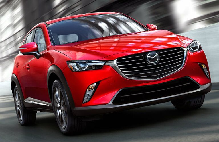 grille design on the 2016 mazda cx-3