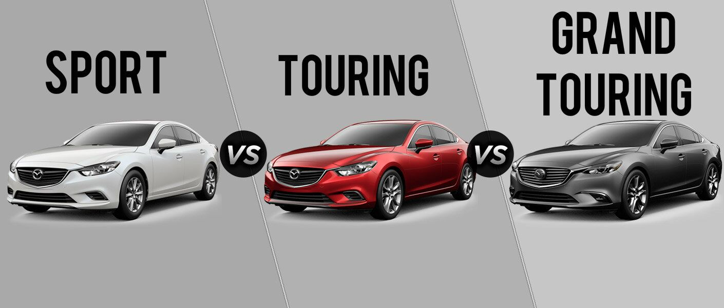 2017 mazda6 sport vs touring vs grand touring. Black Bedroom Furniture Sets. Home Design Ideas